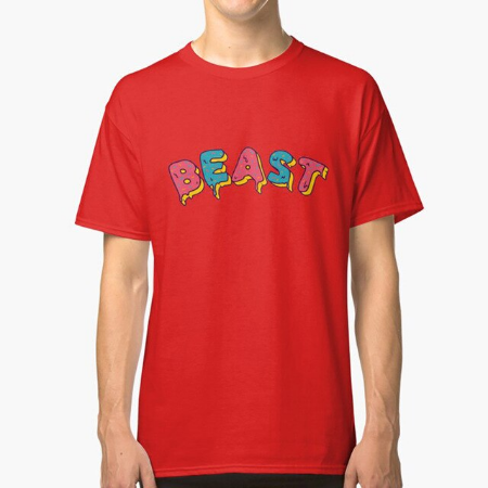 Frosted Beast Mr. Beast Design Hoodie
