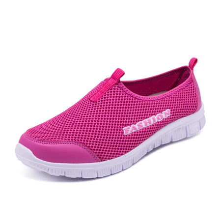 Spring Summer Women Sneakers Breathable Mesh Light Flat Loafers Casual Shoes