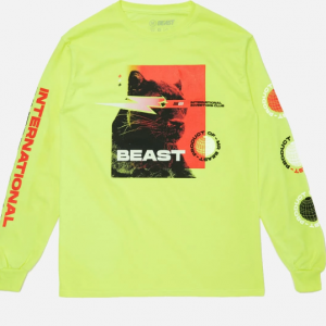 'INTERNATIONAL INVESTORS CLUB' LONG SLEEVE TEE - VOLT