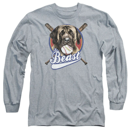 Sandlot Movie The Beast Picture Licensed Adult Long Sleeve T-Shirt